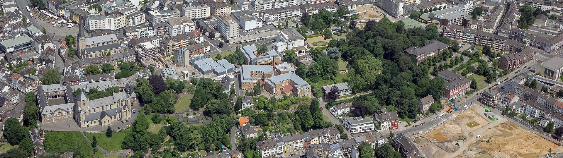 Foto Luftaufnahme Abteiberg