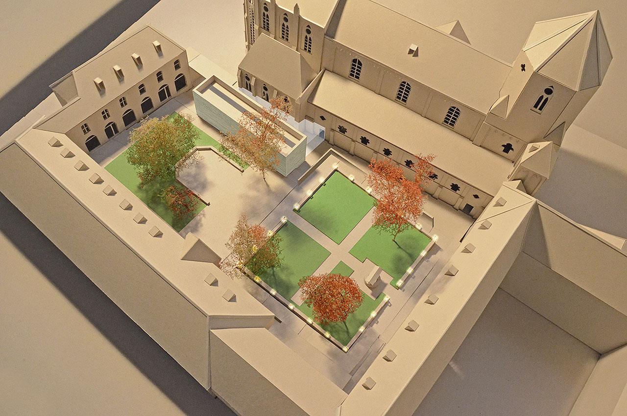 Grafik Projekt Brunnenhof Visualisierung